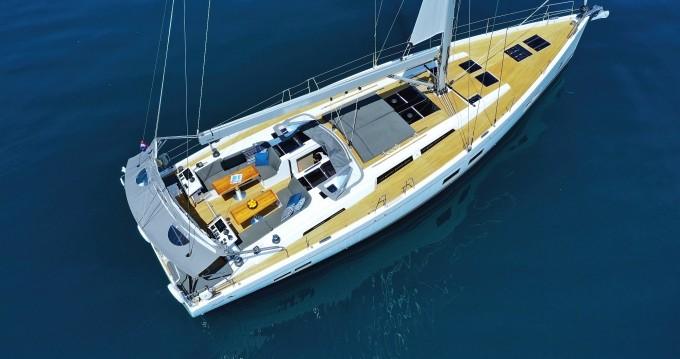 Rental yacht Kaštela - Hanse Hanse 588 on SamBoat