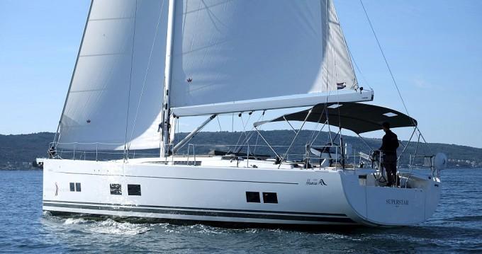 Boat rental Kaštela cheap Hanse 588
