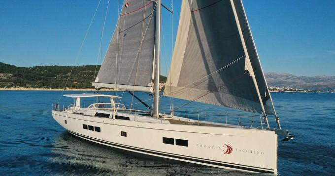 Boat rental Kaštela cheap Hanse 675