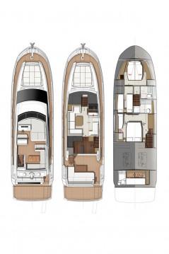 Boat rental Jeanneau Prestige 520 Flybridge in Biograd na Moru on Samboat