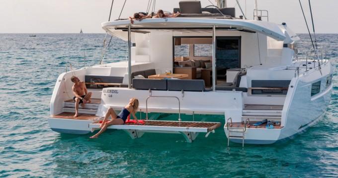 Boat rental Marina Cay cheap Lagoon 50