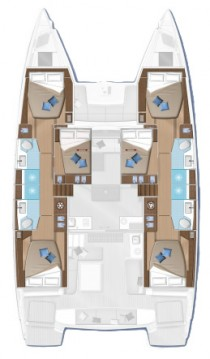 Catamaran for rent Frenchtown at the best price