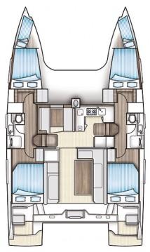 Boat rental Skiathos cheap Nautitech 40