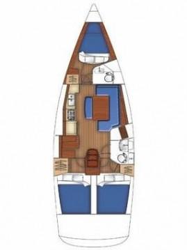 Rental Sailboat in Lefkada (Island) - Bénéteau Oceanis 40