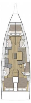 Boat rental Bénéteau Oceanis 46.1 in Deme of Volos on Samboat