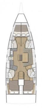 Rental yacht Rogoznica - Bénéteau Oceanis 46.1 on SamBoat