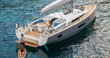 Boat rental Rogoznica cheap Oceanis 46.1