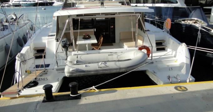 Rental Catamaran in Scrub Island - Catana Bali 4.5 - 4 + 2 cab.