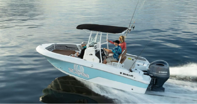 Hire Motorboat with or without skipper Wellcraft Ajaccio