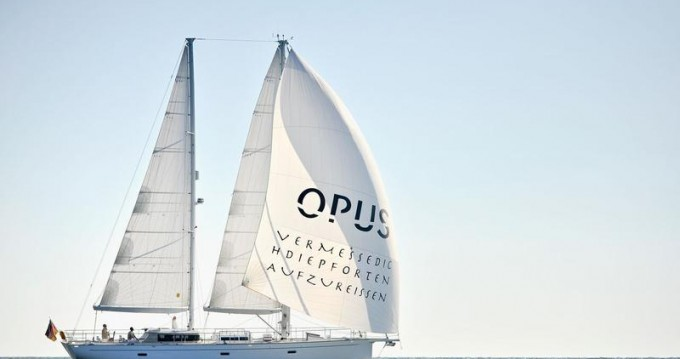 Boat rental Dixon Yacht Design Opus 68 in Alimos on Samboat