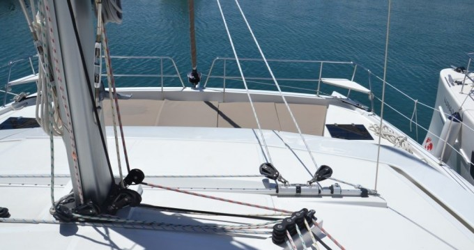 Boat rental Catana Bali 4.5 - 4 + 2 cab. in Le Marin on Samboat