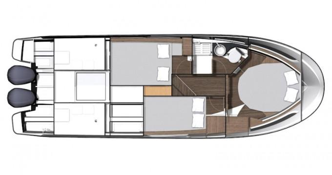 Rental Motorboat in Sukošan - Jeanneau Merry Fisher 1095 Fly