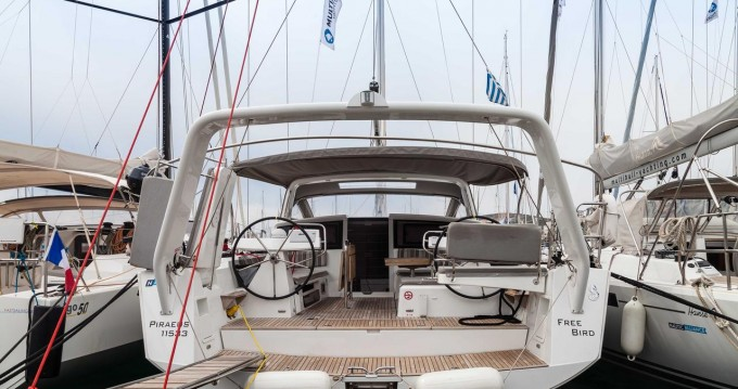 Rental yacht Lávrio - Bénéteau Beneteau Sense 50 - 3 + 1 cab. on SamBoat