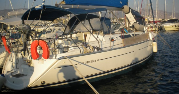 Jeanneau Sun Odyssey 40 between personal and professional Lávrio