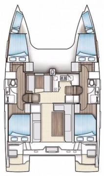 Rental yacht Biograd na Moru - Nautitech Nautitech 40 on SamBoat