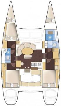 Rental yacht Pomer - Lagoon Lagoon 380 on SamBoat