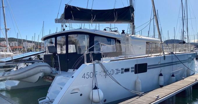 Boat rental Šibenik cheap Lagoon 450 F