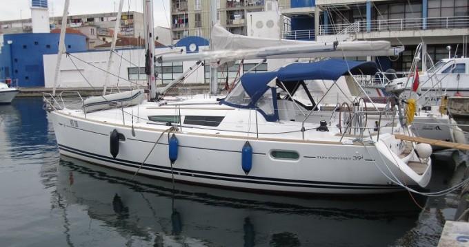 Boat rental Jeanneau Sun Odyssey 39i in Punat on Samboat