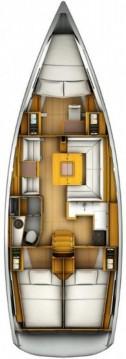 Boat rental Jeanneau Sun Odyssey 409 in Split on Samboat