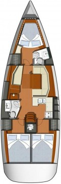 Jeanneau Sun Odyssey 42i between personal and professional Vodice