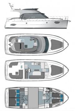 Rental Motorboat in Biograd na Moru - Bavaria Bavaria E40 Fly