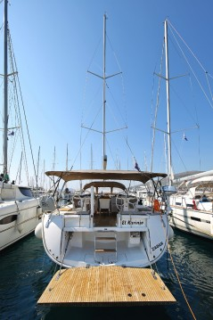 Bavaria Cruiser 56 between personal and professional Trogir