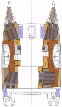 Rental Catamaran in Vodice - Fountaine Pajot Orana 44