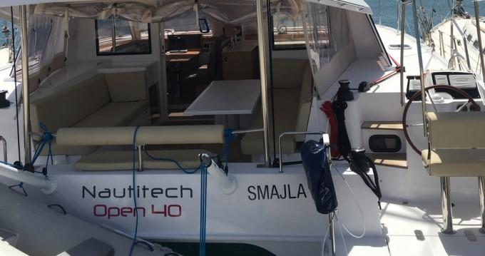 Boat rental Athens cheap Nautitech 40