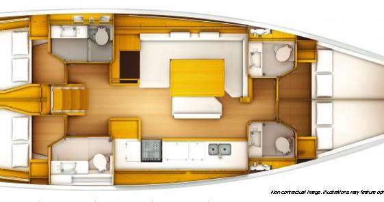 Boat rental Athens cheap Sun Odyssey 519 - 4 cab.