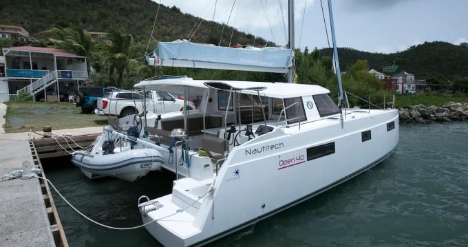 Nautitech Nautitech 40 between personal and professional Marina Cay