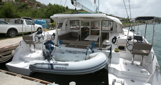 Boat rental Marina Cay cheap Nautitech 40