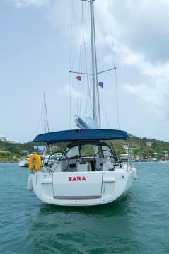 Boat rental Marina Cay cheap Sun Odyssey 469