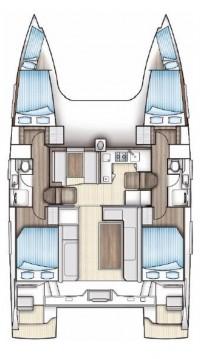 Rental Catamaran in Seget Donji - Nautitech Nautitech 40