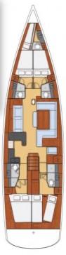 Rental yacht Seget Donji - Bénéteau Oceanis 60 - 4 + 1 cab. on SamBoat