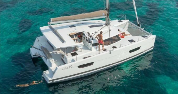 Rental yacht Biograd na Moru - Fountaine Pajot Lucia 40 on SamBoat