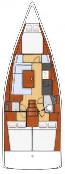 Hire Sailboat with or without skipper Bénéteau Šibenik