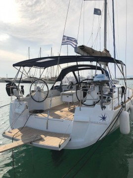 Jeanneau Sun Odyssey 519 between personal and professional Athens