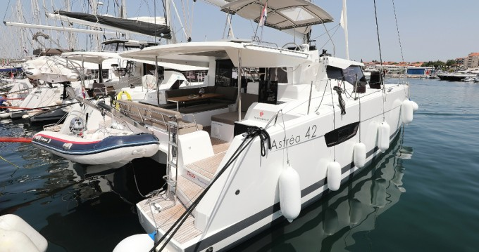 Fountaine Pajot Astrea 42 between personal and professional Biograd na Moru
