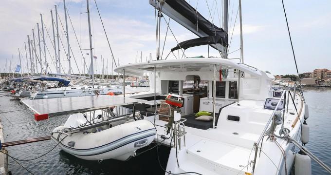 Rental Catamaran in Biograd na Moru - Lagoon Lagoon 450 F