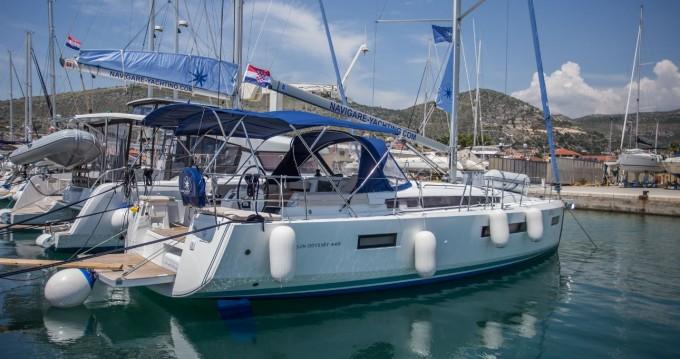 Boat rental Seget Donji cheap Sun Odyssey 440