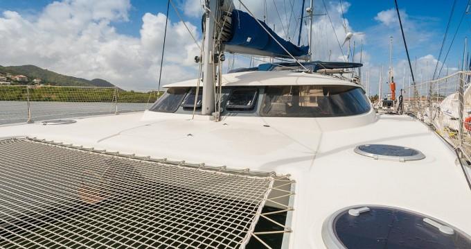 Rental Catamaran in Saint Lucia Island - Fountaine Pajot Lavezzi 40