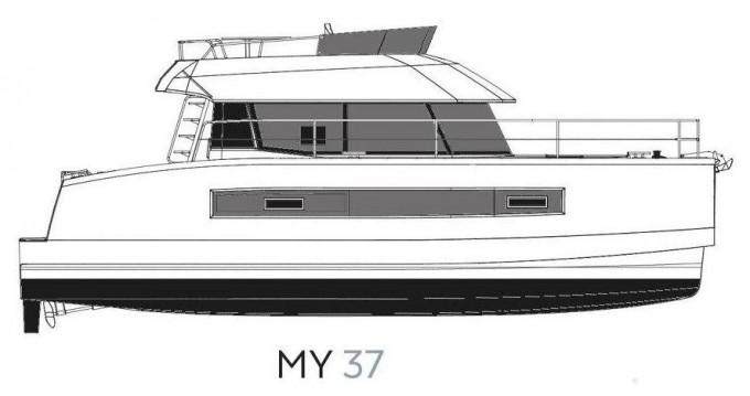 Rental Motorboat in Šibenik - Fountaine Pajot My 37