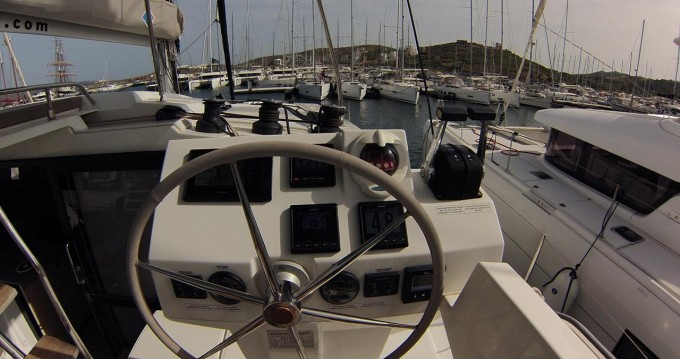 Fountaine Pajot Astrea 42 between personal and professional Lávrio