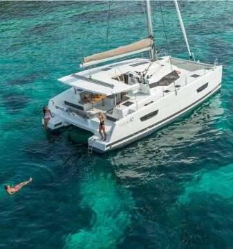 Rental Catamaran in Vodice - Fountaine Pajot Lucia 40
