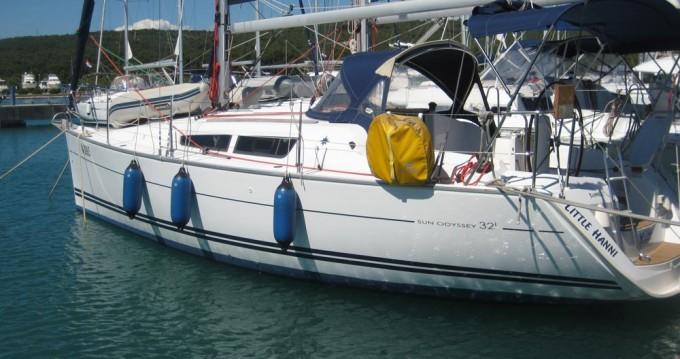 Rent a Jeanneau Sun Odyssey 32i Zadar