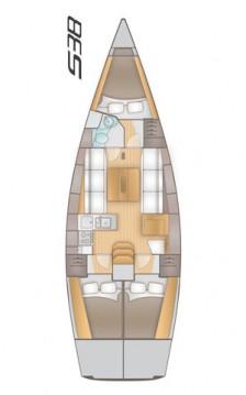 Rental Sailboat in Split - Salona Salona 38