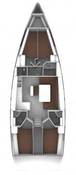 Boat rental Bavaria Bavaria Cruiser 46 OD in Trogir on Samboat