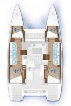 Rental Catamaran in Šibenik - Lagoon Lagoon 40