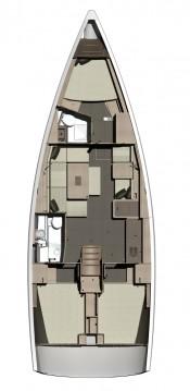 Rental yacht Rogoznica - Dufour Dufour 410 GL on SamBoat
