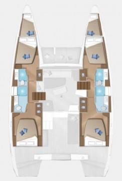 Rental yacht Göcek - Lagoon Lagoon 42 on SamBoat
